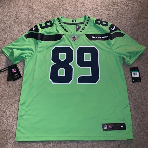 Doug Baldwin color rush stitched jersey Seahawks